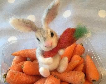 Rabbit gifts etsy rabbiteaster bunnyneedle felted bunnyfelted rabbitrabbit ornamentrabbit negle Gallery