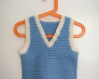 ON SALE Baby Crochet Vest
