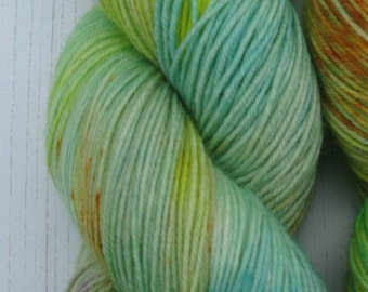 """4 Ply  """"Ginnys Gown"""" hand dyed sock yarn inspired by Harry Potter."""