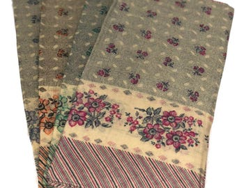 Floral Hankies/Bandanna/Scarf 27X27'' (Large)