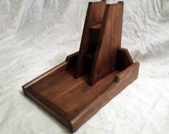 Headphone and Controller Wooden Stand