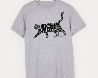Meal of Rice Mens T-Shirt, inspired by Bob Mortimer's Twitter Cat Names, 10% to Cats Protection