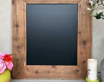 Large Reclaimed Wood Chalkboard
