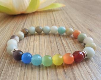 chakra jewelry gemstone chakra bracelet chakra stones energy bracelet chakra balancing bracelet energy healing 7 chakra bracelet yoga gifts