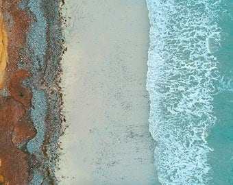 Digital download aerial photography beach