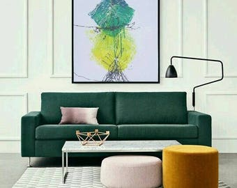 Large Vertical Wall Art vertical wall art impressionism painting on canvasleonid