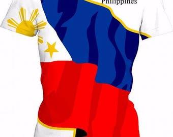 Philippines Ladies Flag Tee