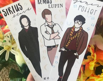 Marauders ~ Harry Potter ~ Bookmarks
