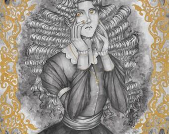 The Raven Queen- Print