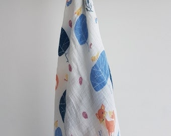 Fox in the Forest Swaddle