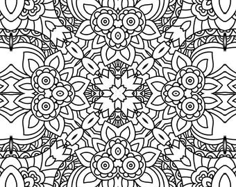 Colouring Book Pages - Design Pack 5