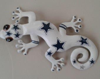Cowboys gecko wall decor