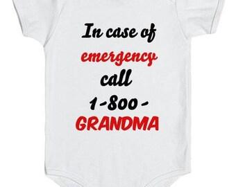 In case of emergency call 1-800- grandma