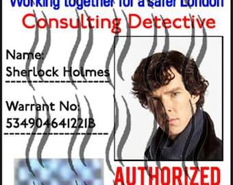 Badge from BBC Sherlock