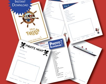 PRINTABLE Disney Cruise Journal for Kids