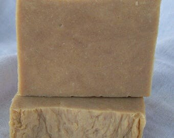 New Morning Farm Goat Milk Soap Baby Love Unscented Oats & Molasses