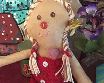 Ginger bread doll