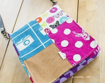 709 Evelyn Tablet Bag PDF Sewing Pattern
