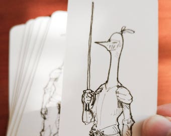 A Long Knight Bookmark