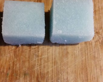 Lime Spearmint Sugar Scrub Cubes 549