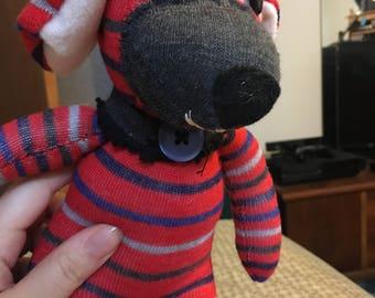Plush sock puppy (small)