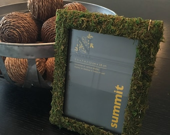 Moss Covered Frame (Pictures or Table Numbers)