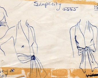1970s Halter Top Pattern