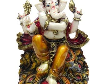 "Ganesha statue idol (11"" tall)"