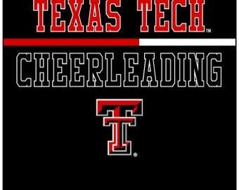 Texas Tech Cheerleading Shirt (adult size)