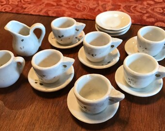 Delightful Antique Doll Tea Set