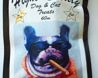 Flash Sale~~Large ~ Higher Society Dog Biscuits ~ Hemp Seed Oil~