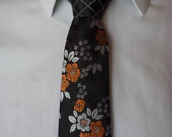 Two-Toned Skinny Tie (A Clockwork Necktie)