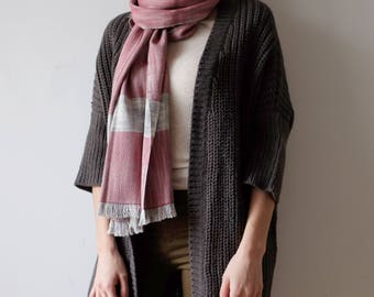 Shawl / Italian silk scarf