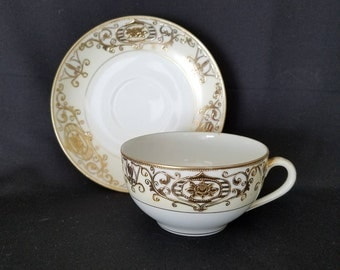 Noritake Cup and Saucer Christmas Ball Pattern 16034 or 175