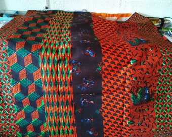"""5-017 - WAX """"ASANSAN"""" from Togo"""