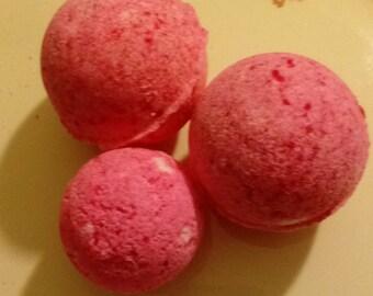 Japanese Cherry Blossom Homemade Bathbombs set of 3