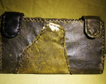 checkbook leather