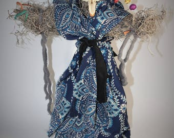 Real Bone Authentic Voodoo Doll- Friendship Focus- Sage Blessed
