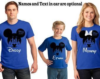 Family Disney Shirt, Glitter Minnie Bow Disney Shirts, Disney Shirts, Disney Family Shirts, Disney Shirt, Matching Disney tshirt, Mickey Tee