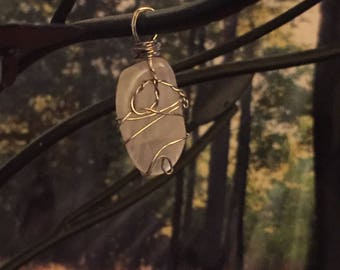 Wire wrapped Moonstone