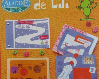 """Book """"The creative world of Lili"""" - for children aged 6 - easy, fun, colorful"""