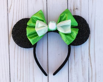 Tinkerbell Mickey Ears Disney Headband Inspired Minnie Mouse Ears