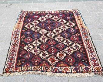 174x132 cm Kilim Rug,Vintage Turkish kilim Rug,Anatolian Handwoven Kilim rug,Vintage Rug,Floor Rug no:1112