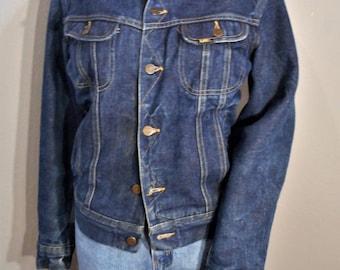 Lee Storm Rider Jean Jacket outdoor jacket wool lined women's size medium small