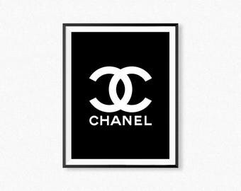 Dynamic image with free printable chanel logo
