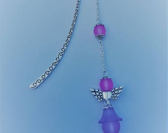 Little purple Angel bookmark