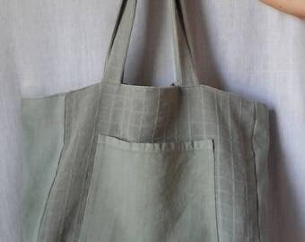 Bag tote bag Green Sage
