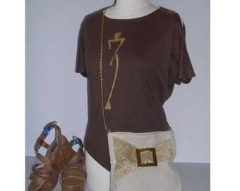 BAG / pouch * gold * shoulder bag
