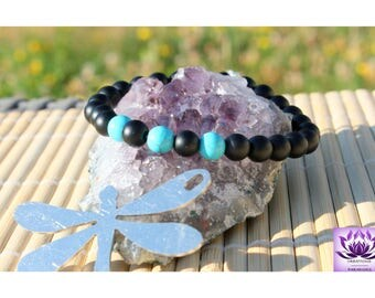 Onyx Turquoise natural beads