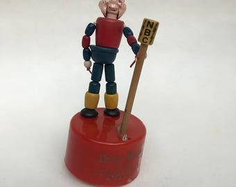 1949 Kohner Howdy Doody Push Puppet Vintage NBC TV Show